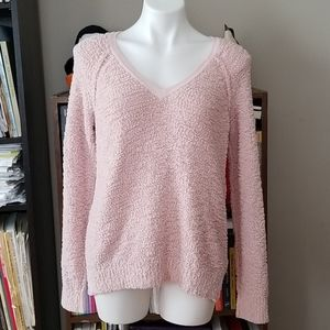 💖XL Sanctuary Blush Pink Austin V-Neck Sweater